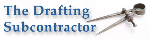 The Drafting Subcontractor Logo